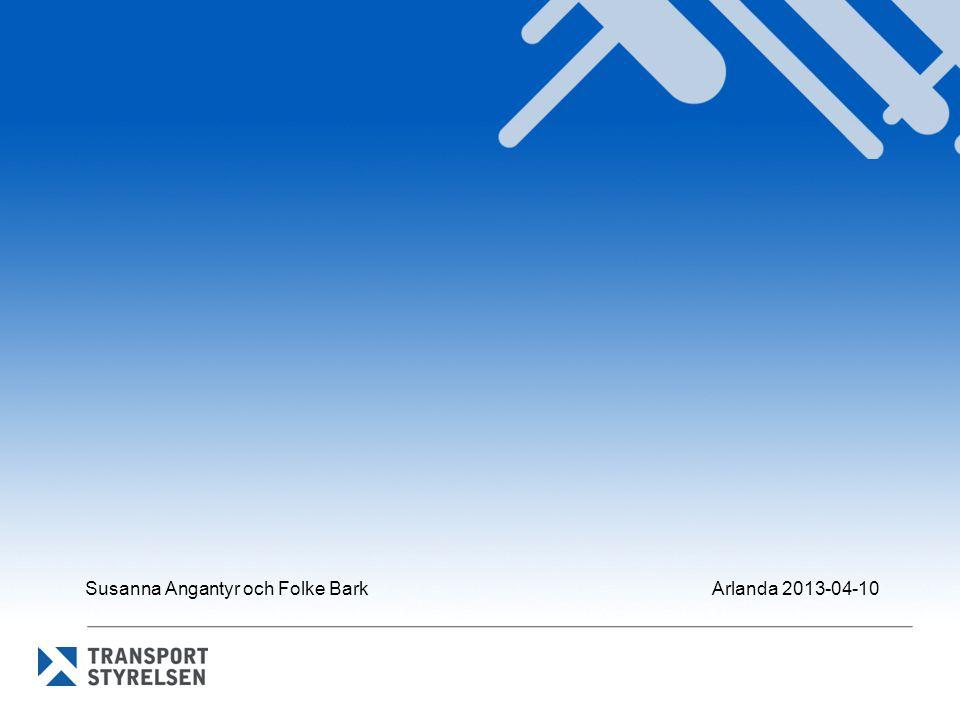 Susanna Angantyr och Folke Bark Arlanda 2013-04-10