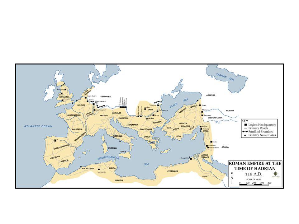 Kejsartiden • Octavianus blev Roms förste kejsare: Augustus • Från 30 f.