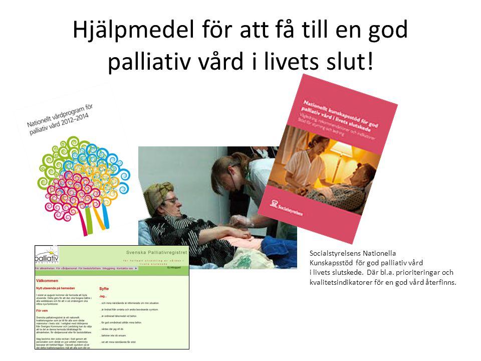 Socialstyrelsens kvalitetsindikatorer – resultat Hallands sjukhus • Alla registreringar inom sjukhuset • Resultatet ligger under den nationella nivån för alla kvalitetsindikatorerna • En bra ökning av indikatorernas snitt under sista året