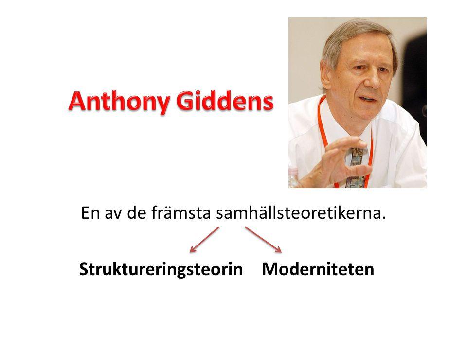 o Kritiken mot Giddens är hård.o Han samlar allt i en teori vilket begränsar.