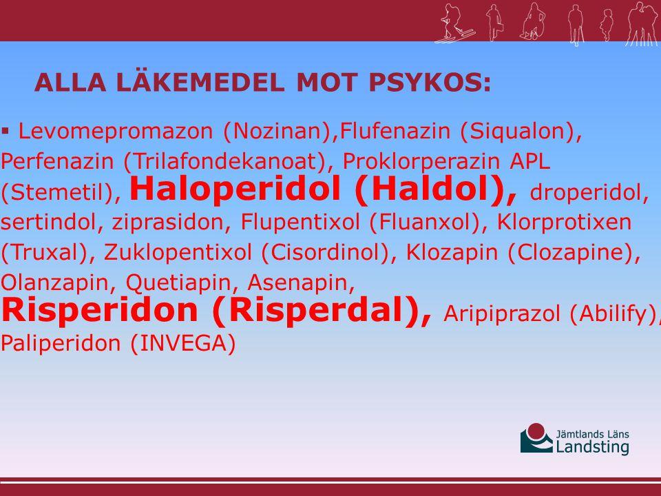 ALTERNATIV TILL LÄKEMEDEL MED BETYDANDE ANTIKOLINERGA EFFEKTER Vid indikation klåda: Klemastin (Tavegyl) Ceterizin (Zyrlex) Loratadin (Clarityn) Zinkpudervätska APL  I stället för:  Hydoxizin (Atarax), Difenhydramin (Desentol), Dimenhydrinat (Amosyt), Alimemazin (Theralen), prometazin (Lergigan), tietylperazin (Torecan) Läkemedelskommittén