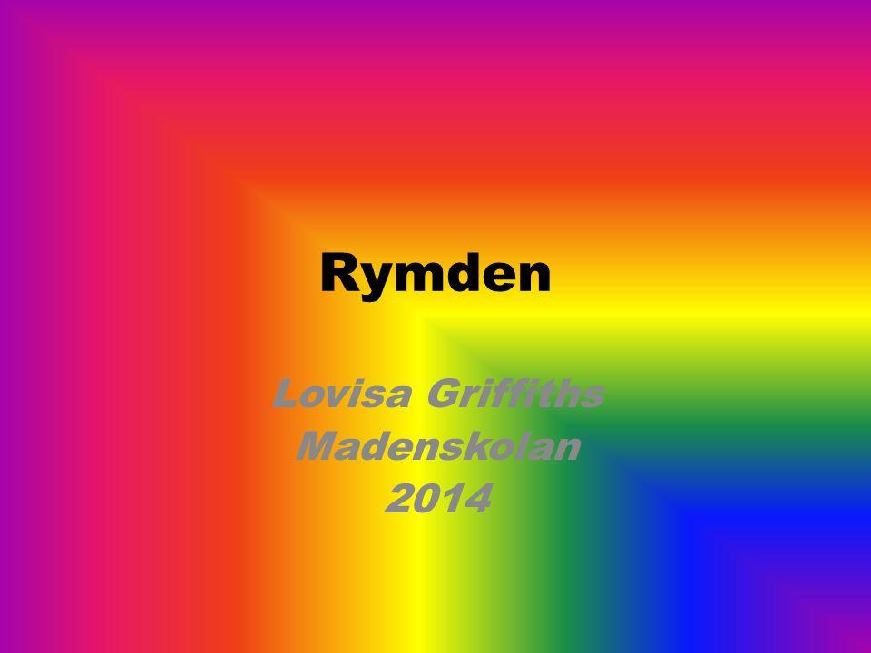Rymden Lovisa Griffiths Madenskolan 2014