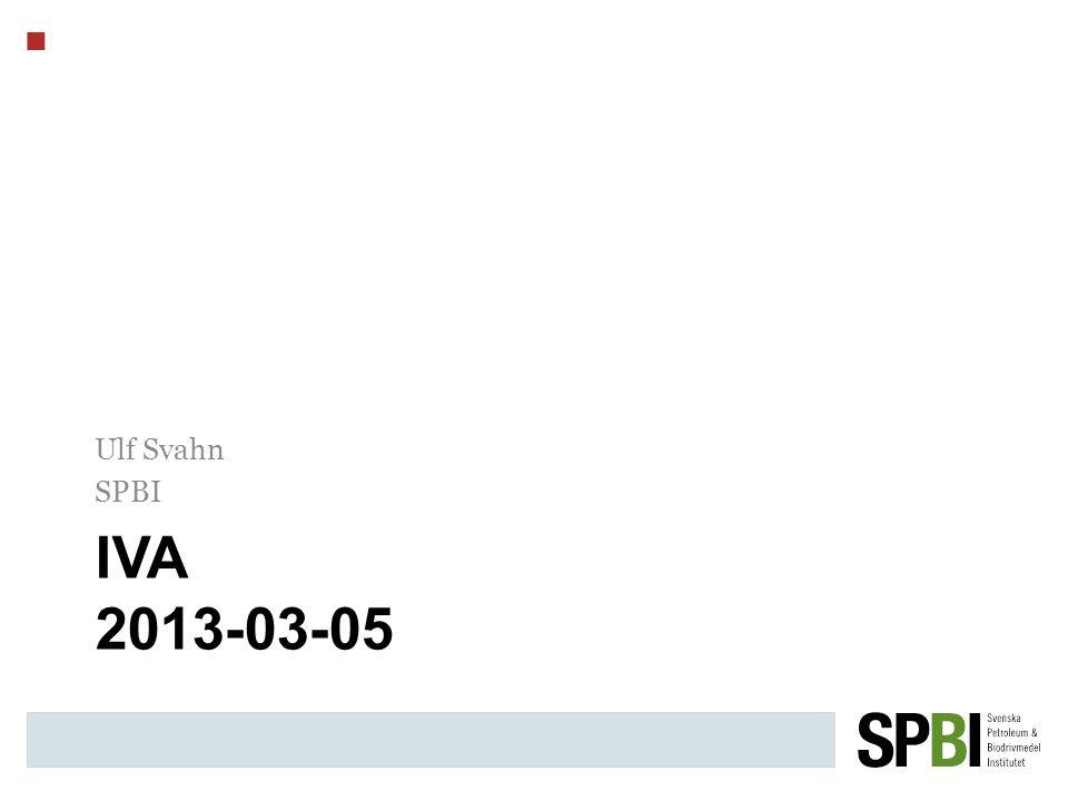 IVA 2013-03-05 Ulf Svahn SPBI