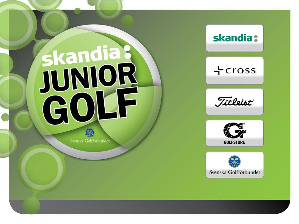JSM KLUBBLAG 2011 • SGF Golf Ranking Klubb Junior används ej • 32 klubbar från GDF till kvalomgång 2 • Fyra spelplatser, två pooler per spelplats • De två bästa från varje pool till Slutspel • 16 klubbar i Slutspelet som spelas över tre dagar på Abbekås GK den 9-11 september • Slagspelskval följt av matchspel • Fyra klubblag kvalificerar sig till final utomlands