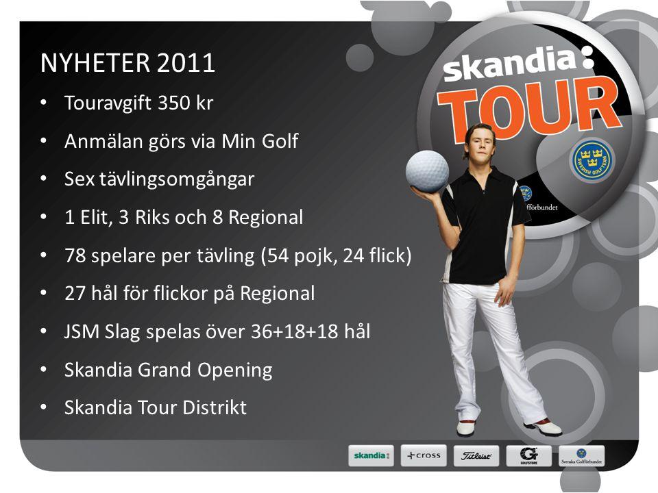 GRAND OPENING • Syftet är att starta säsongen tidigt • Abbekås GK, 16-17 april 2011 • Partävling, 16 flickpar och 36 pojkpar • Fyrboll och foursome • 18 + 18 hål, ingen cut • Anmälan via Min Golf • Uttagning via lägst sammanlagd hcp • Anmälningsavgift 400kr/par