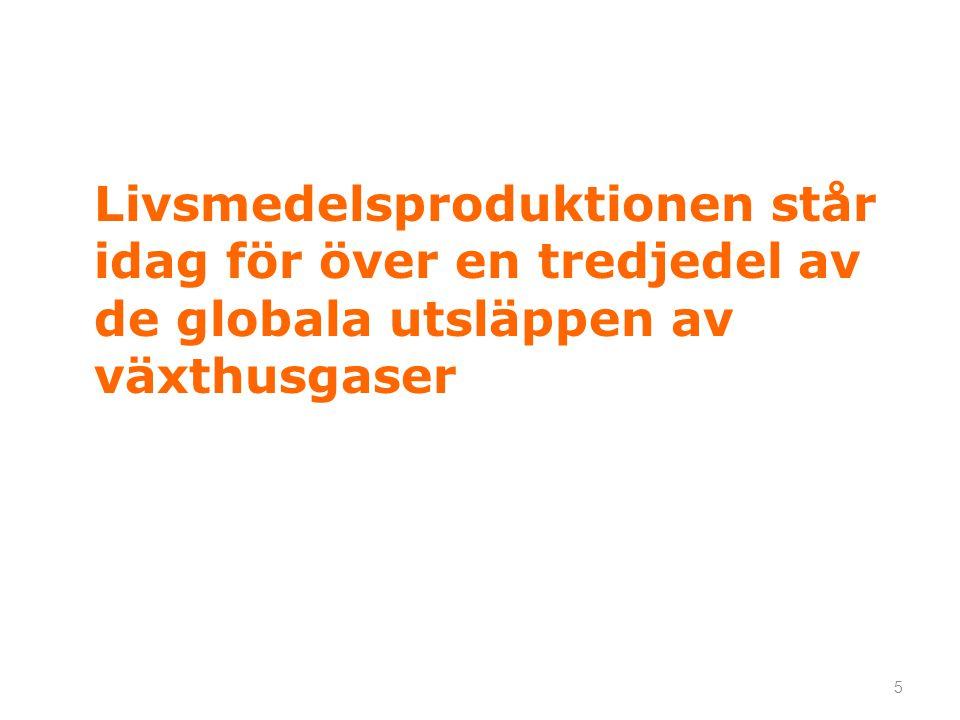 6 Generationsmål Det övergripande målet för miljöpolitiken är att till nästa generation lämna över ett samhälle där de stora miljöproblemen i Sverige är lösta, utan att orsaka ökade miljö- och hälsoproblem utanför Sveriges gränser