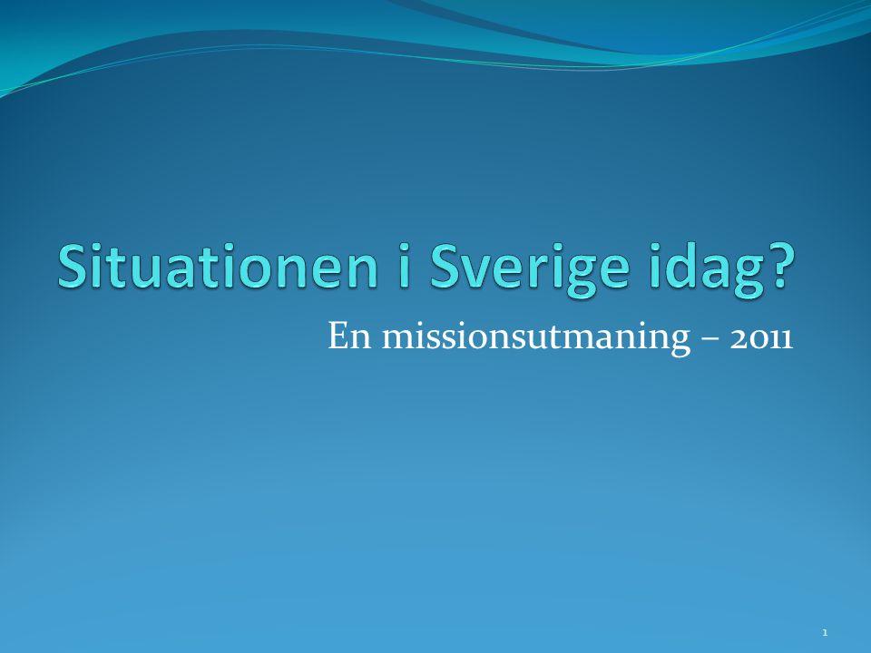 En missionsutmaning – 2011 1