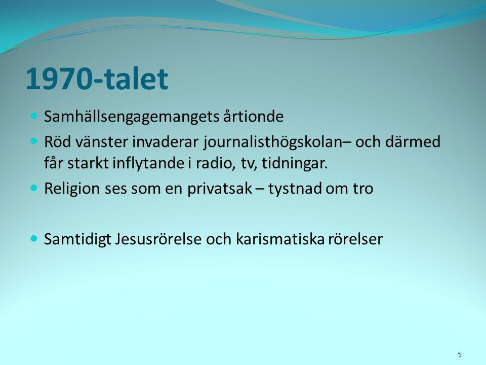 4. Vi lever alltmer på Internet Källa: Nordicom Mediebarometern 2009 26