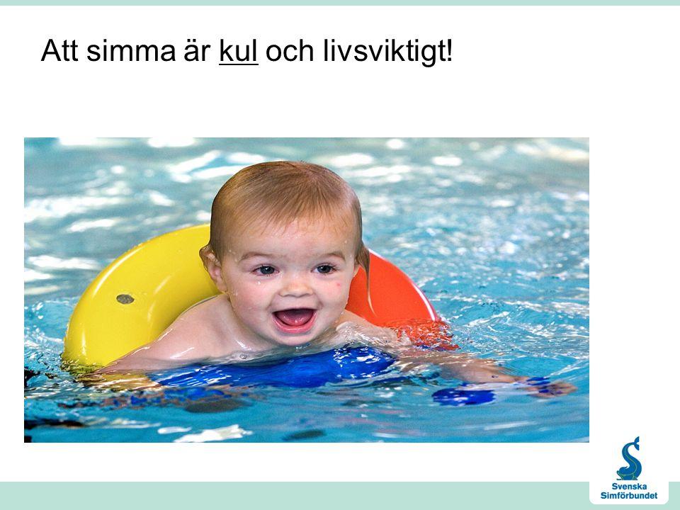 Att simma är kul och livsviktigt!