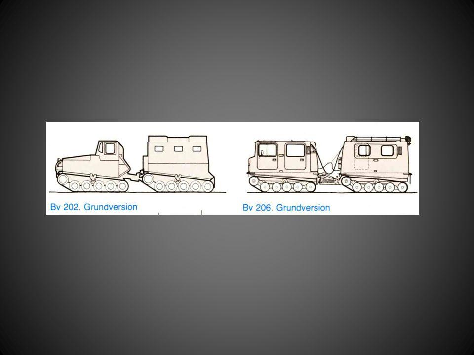Väg • Väg = högväxel • Gränsla vägspår • Försök undvik grov landsväg (stenar fast i bandet) • Små potthål = kör över • Sladdrisk : – Vid körning utför – Vid kraftig svängning – Ojämn lastfördelning mellan fram- och bakvagn – Bandavslitning