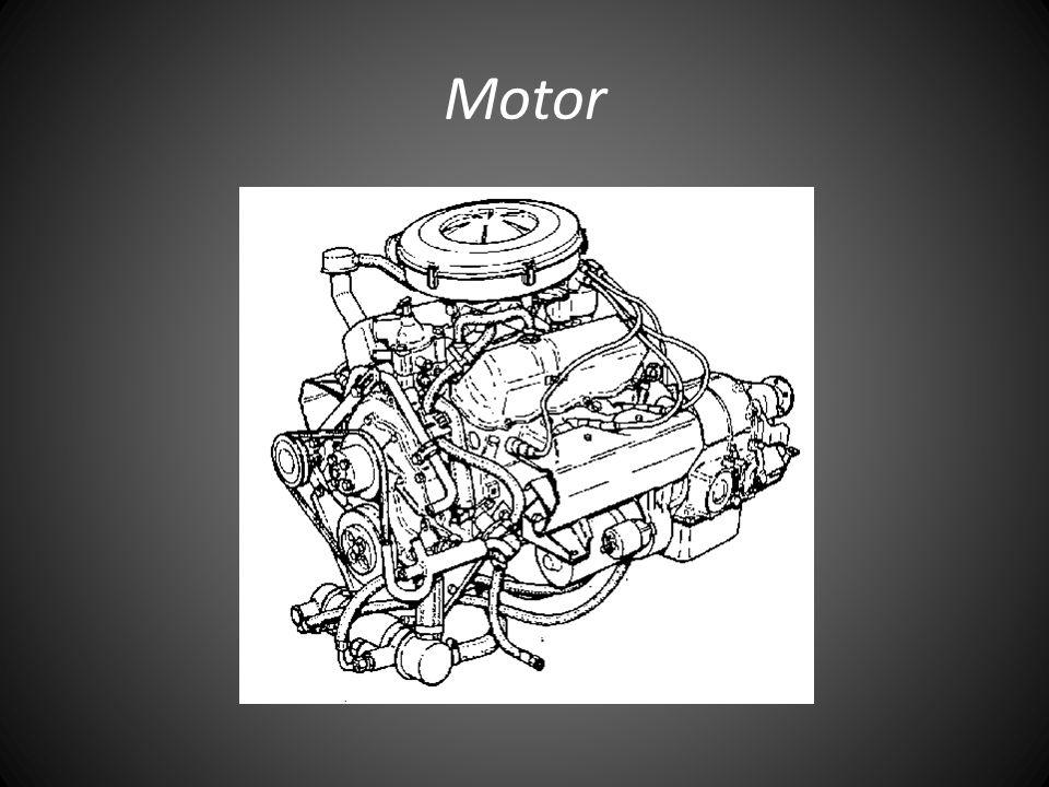 • Järn V6, Ford 2658E • Vätskekyld • Bensin (95 Okt) • 136 Hk (vid 5200rpm) • Max hastighet 50 km/h • Mycket gas, växlar vid höga varvtal • Pålitlig • Hög ljudvolym