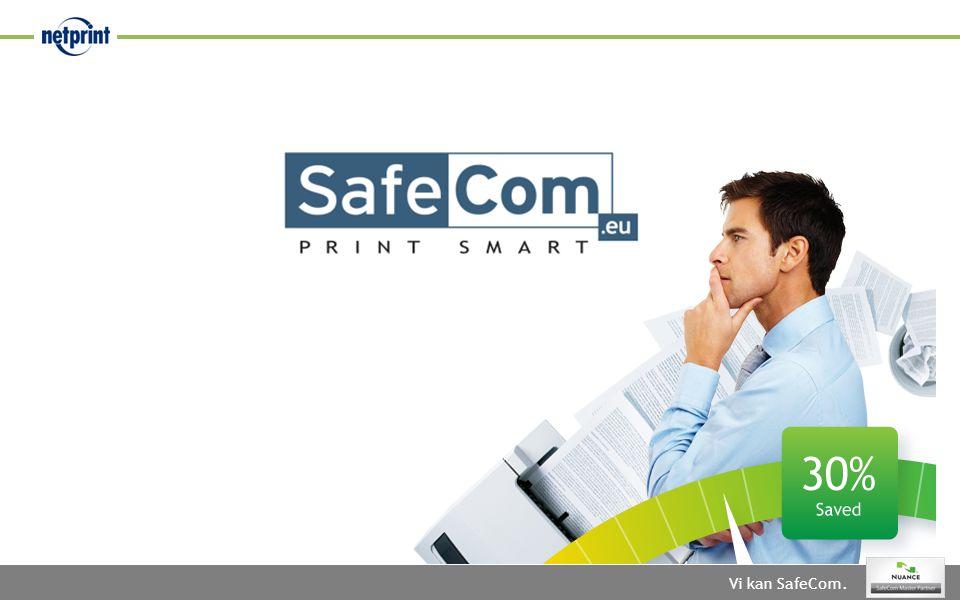 Vi kan SafeCom.