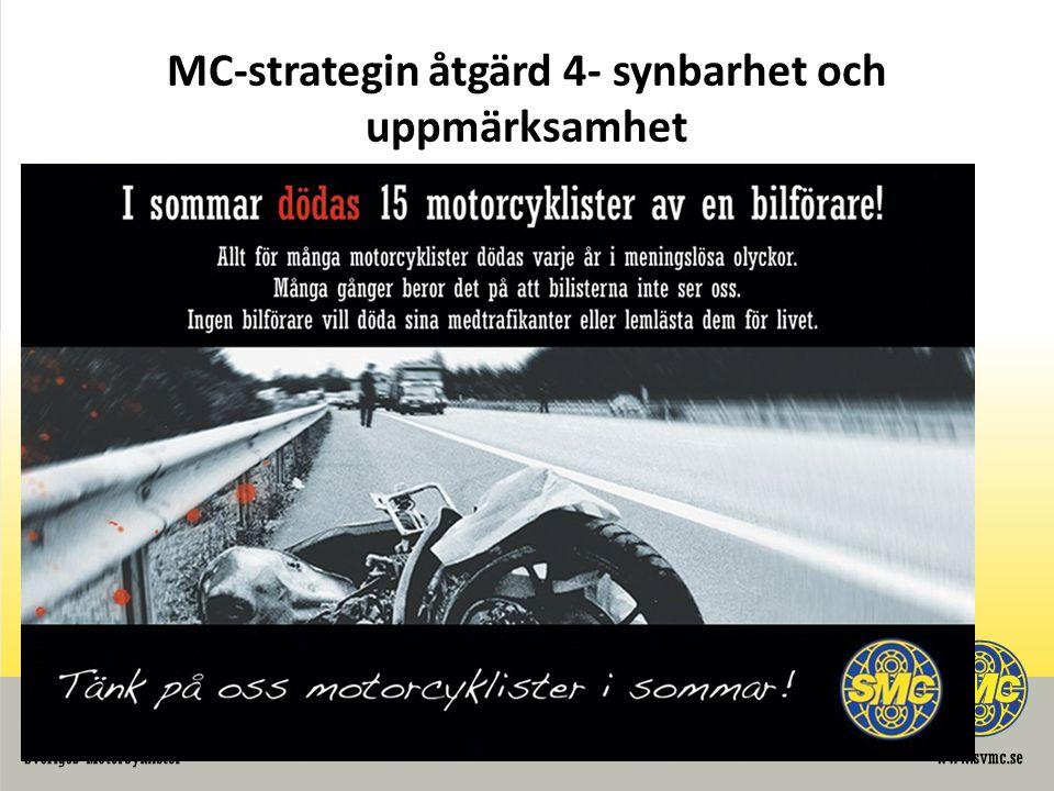 MC-strategin åtgärd 4- synbarhet och uppmärksamhet