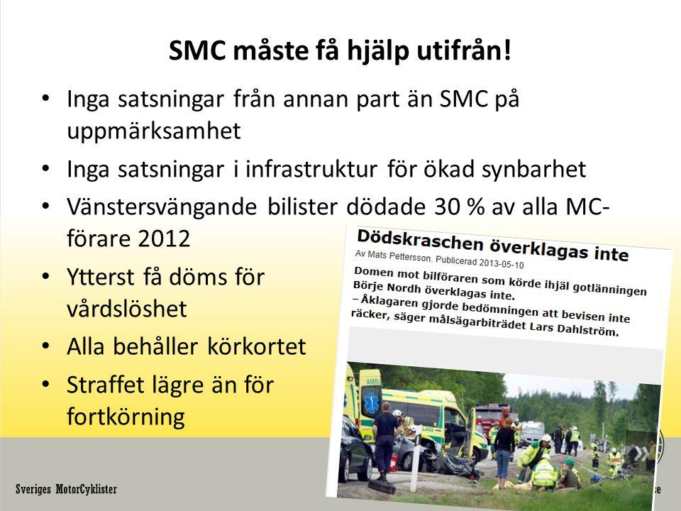 SMC måste få hjälp utifrån.