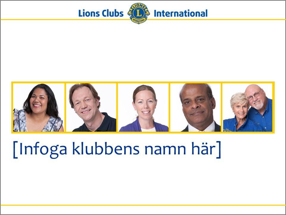 7Lions Clubs InternationalInformation för nya medlemmar Historik •Chartrades år: •Antal chartermedlemmar: •Klubbar som vi har varit fadder för: •Viktiga utmärkelser eller framgångar: