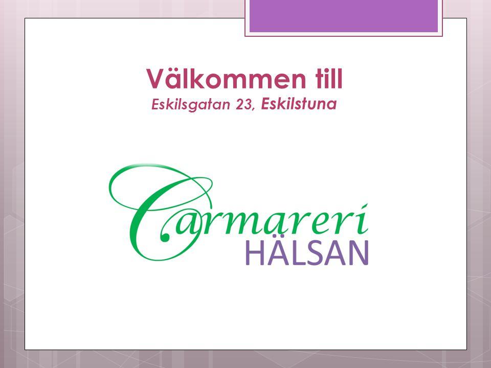 Tack för att du lyssnat! www.carmarerihalsan.se