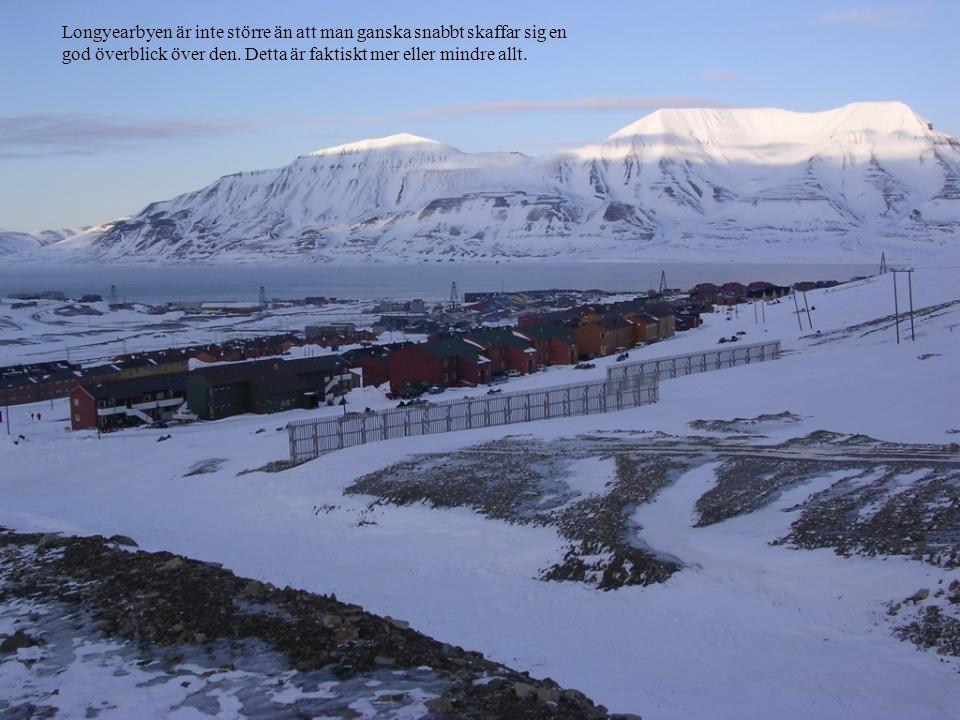 Longyearbyen är inte större än att man ganska snabbt skaffar sig en god överblick över den. Detta är faktiskt mer eller mindre allt.