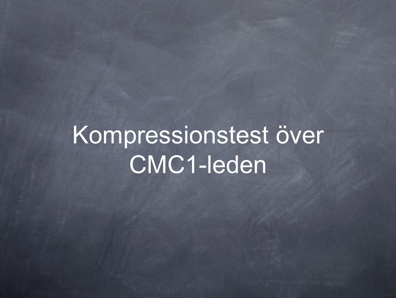Kompressionstest över CMC1-leden