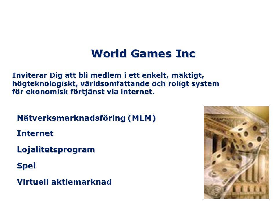 Vi erbjuder ett patenterat aktiespel för våra medlemmar Så här fungerar det: Vi har utvecklat en aktiebörs där våra medlemmar kan köpa och sälja virtuella aktier över nätet.