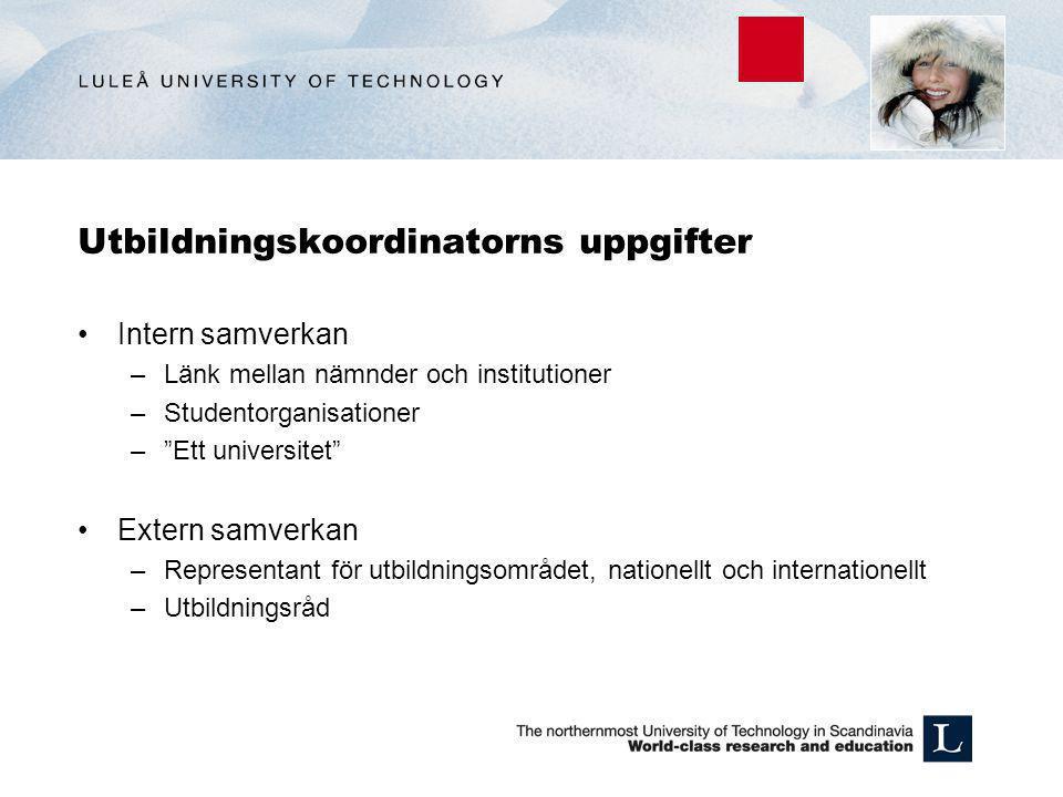 Utbildningar inom Gruv och Bygg Samhällsbyggnad och naturresurser (SBN) Samhällsbyggnad www.ltu.se/shbwww.ltu.se/shb Tillämpad kemi och Geovetenskap www.ltu.se/tkgwww.ltu.se/tkg Kommande länk: Samhällsbyggnad och Geovetenskap www.ltu.se/sbnwww.ltu.se/sbn