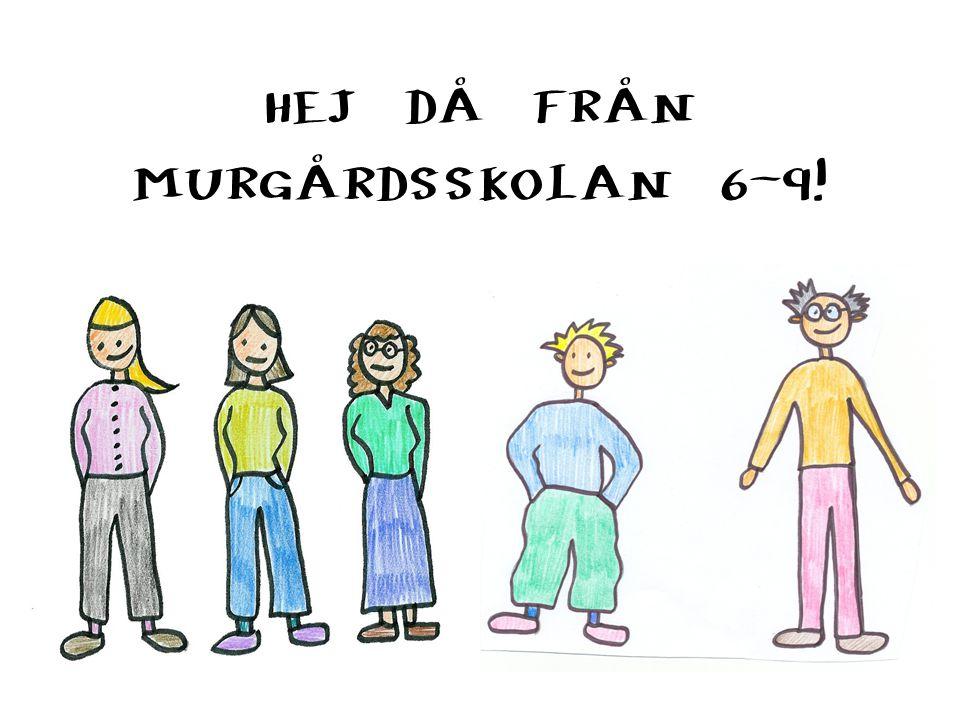 HEJ DÅ FRÅN MURGÅRDSSKOLAN 6-9!