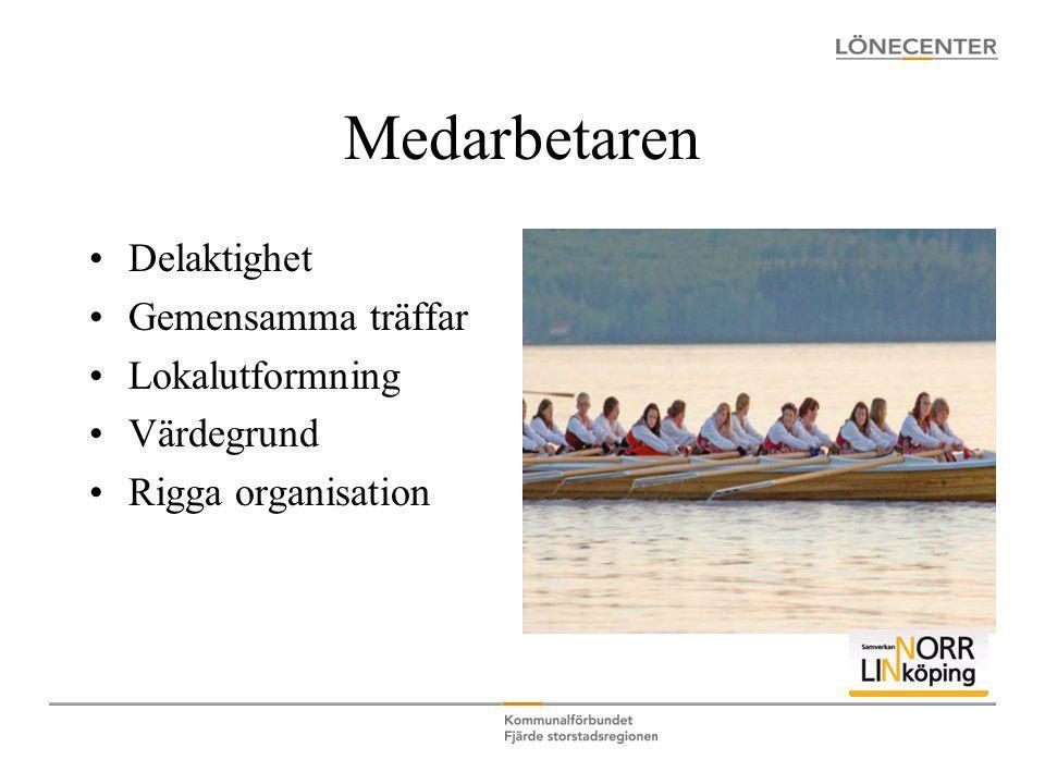 Medarbetaren •Delaktighet •Gemensamma träffar •Lokalutformning •Värdegrund •Rigga organisation
