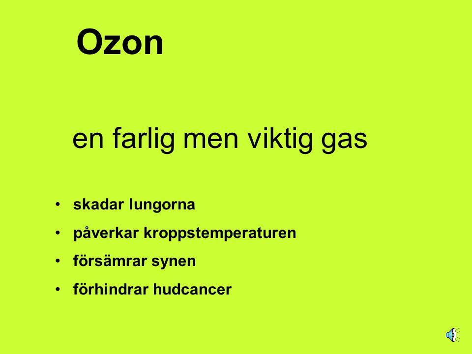 Ozonskiktet över Sverige