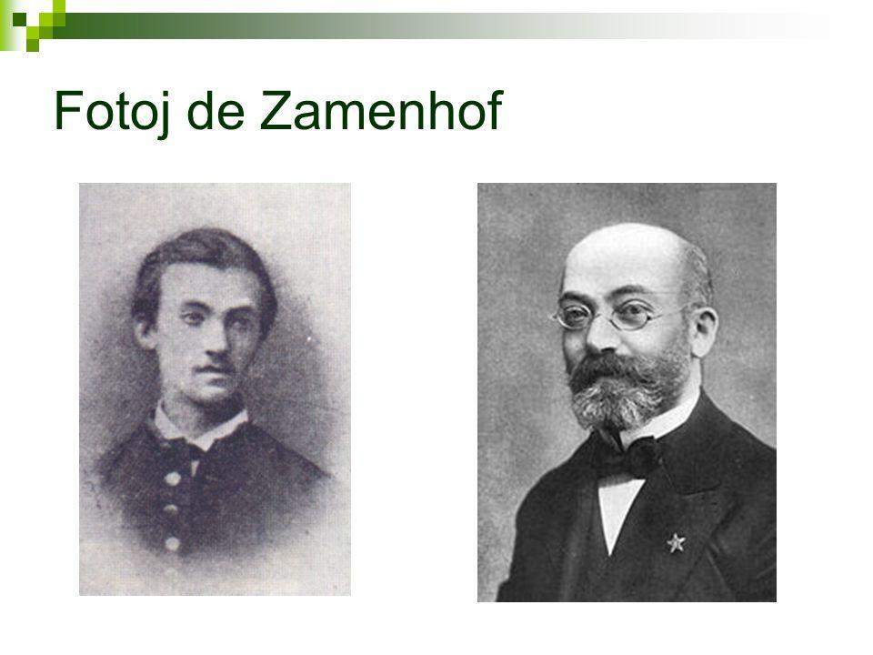 Kort om Zamenhof  Upplevde språkproblem som barn - Białystok  Drömde om att skapa ett lättlärt, neutralt språk  19 år - klar med sitt första språkprojekt  28 år - presenterar grunderna till sitt andra försök  Ögonläkare, familj med flera barn