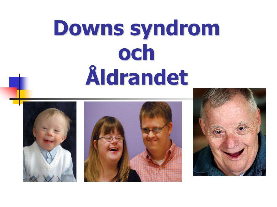Downs syndrom och Åldrandet