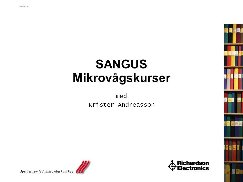 2010-01-29 SANGUS Mikrovågskurser med Krister Andreasson