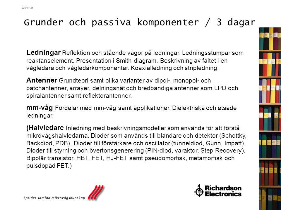 2010-01-29 Kontakt / Anmälan  Frågor om kurser / Anmälan – Maria Örström tel.