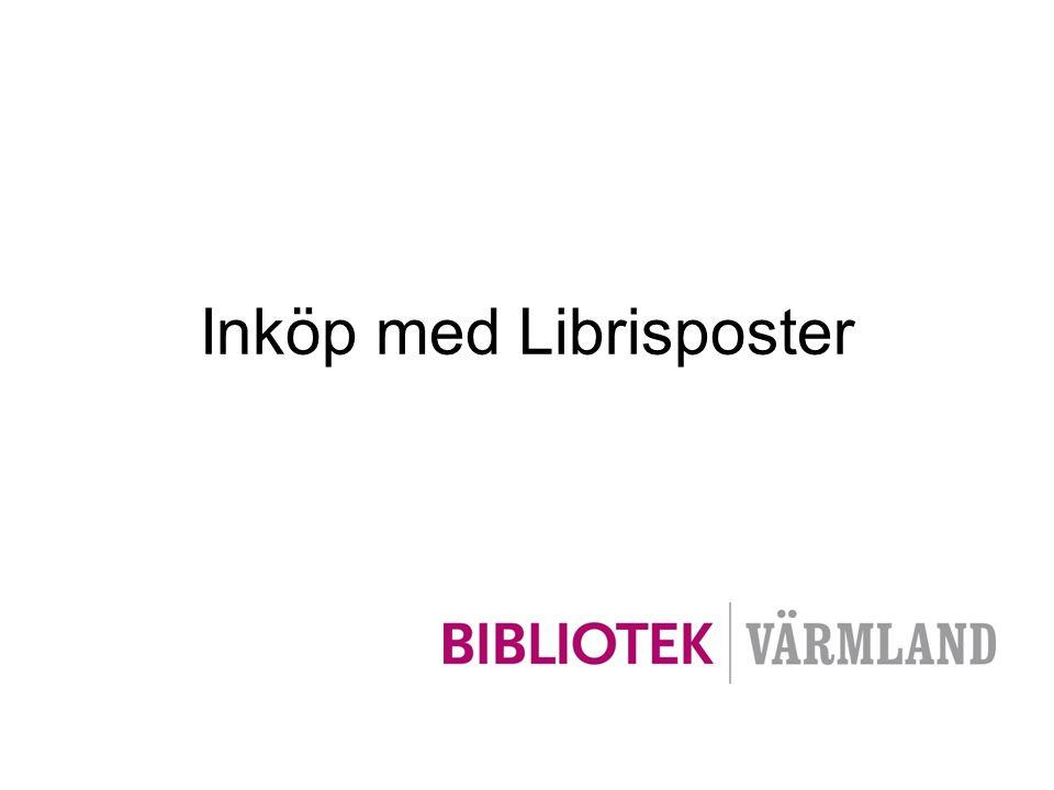 •Inte poster till allt från BTJ om Librispost saknas.
