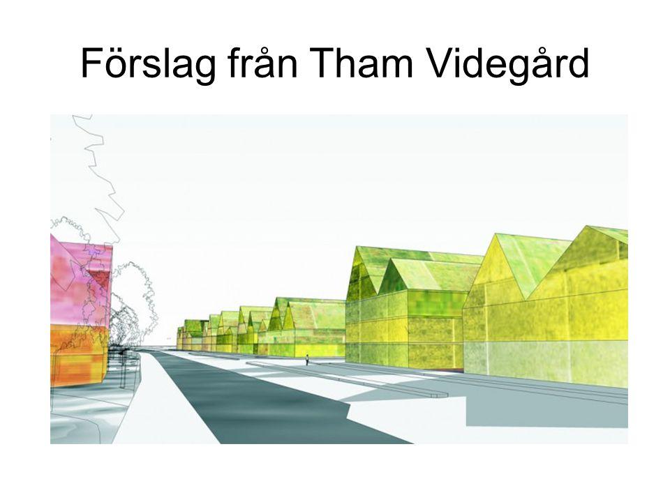 Förslag från Tham Videgård