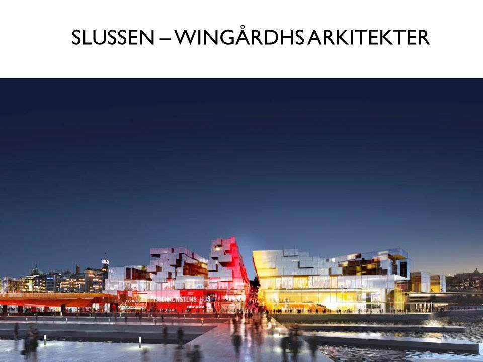 SLUSSEN – WINGÅRDHS ARKITEKTER