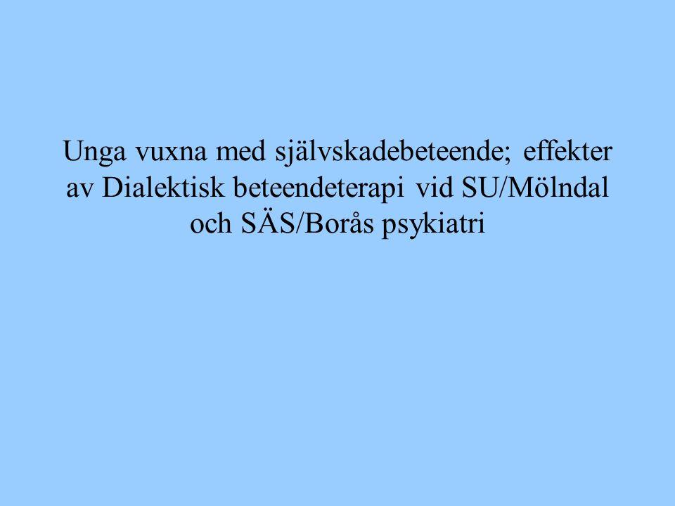 Medarbetare Marita Hällgren, SU/Mölndal Birgitta Lundgren-Pierre, SU/Mölndal Bodil Persson, SÄS Tommy Skjulsvik, SÄS