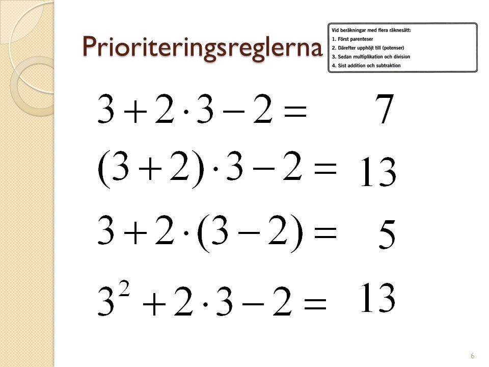 Prioriteringsreglerna 7