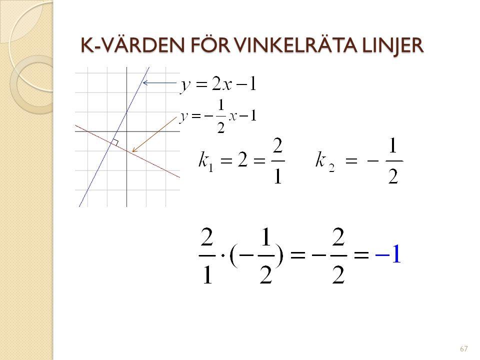 ATT INVERTERA ETT BRÅK 68