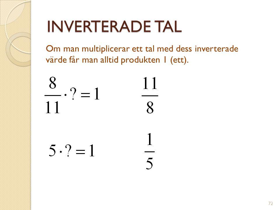 LINJERS LUTNING • • (1,5) (0,3) ∆y = 2 ∆x = 1 Linjens lutning = 73