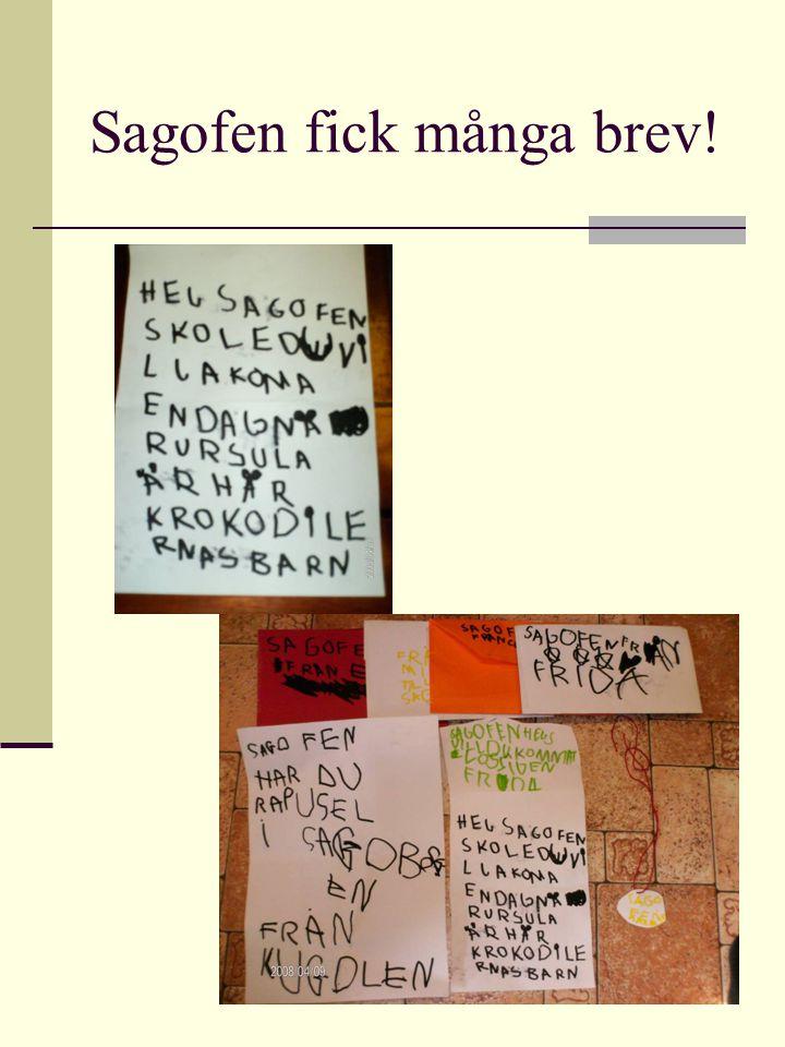 Sagofen fick många brev!