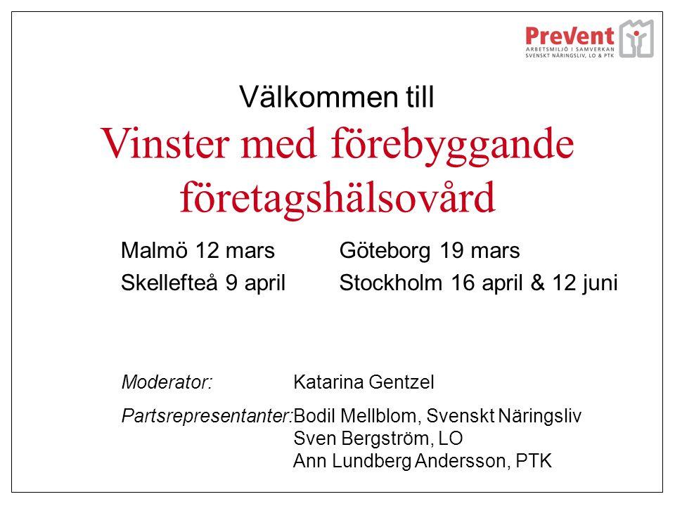 Tack Skellefteå.•Ett stort tack till er alla för att ni kom till seminariet.