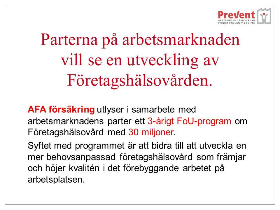 Samarbete företag och företagshälsovård Företaget Trelleborg Ersmark AB berättar tillsammans med företagshälsan PersonalPartner om sitt samarbete och hur val av företagshälsovårdstjänster kommer till.