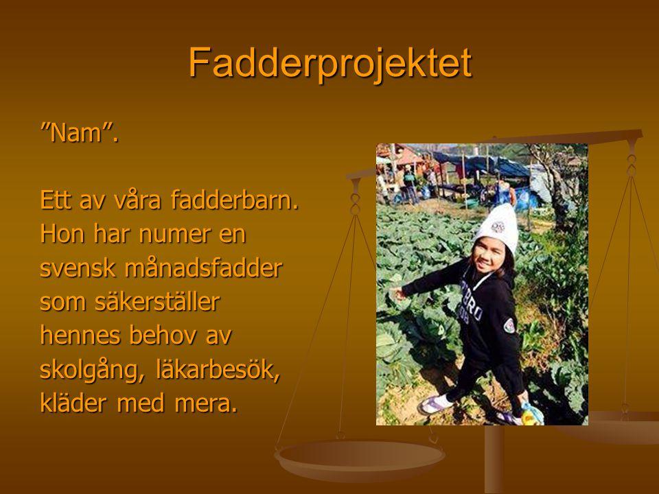 """Fadderprojektet """"Nam"""". Ett av våra fadderbarn. Hon har numer en svensk månadsfadder som säkerställer hennes behov av skolgång, läkarbesök, kläder med"""