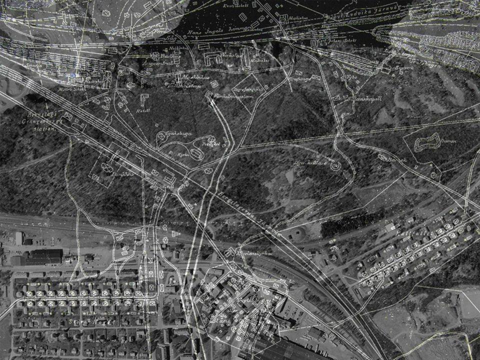 Grängesbergs gruvsamhälle [W 55] (Grangärde sn) Motivering: Representativ gruv- och industriort från tiden omkring sekelskiftet 1900.