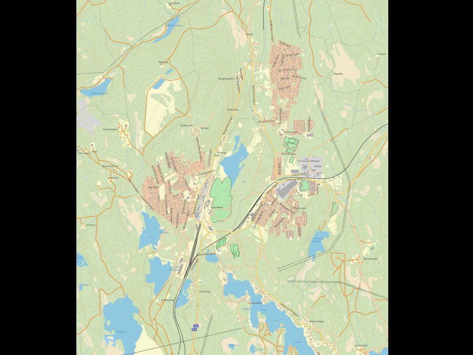 Övning 2: Kartillustration Grängesberg, nytt riksintresse för kulturmiljövården •Med utgångspunkt i övning 1 –hur kan riksintresset på lämpligaste sätt redovisas på en karta.