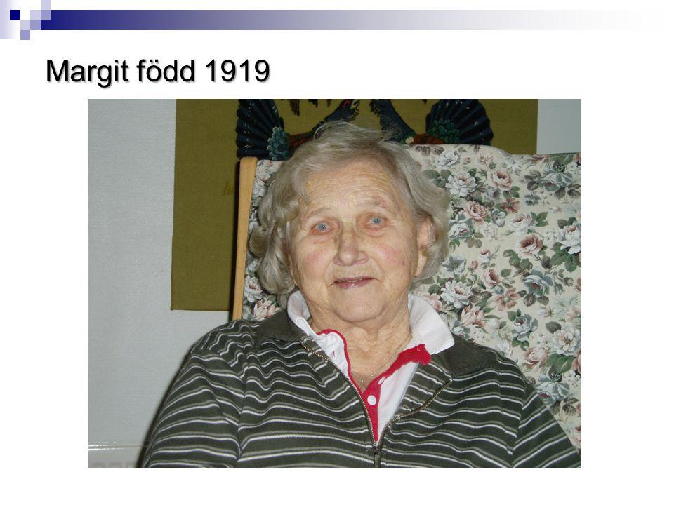Margit född 1919