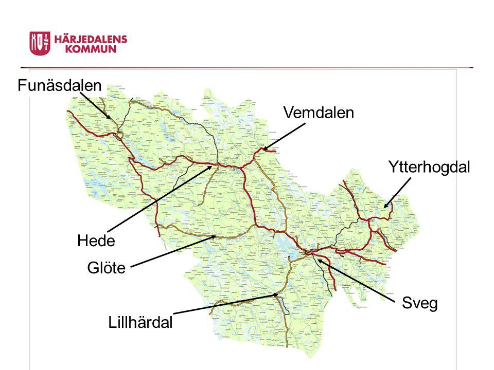 Ytterhogdal Hede Vemdalen Glöte Lillhärdal Sveg Funäsdalen