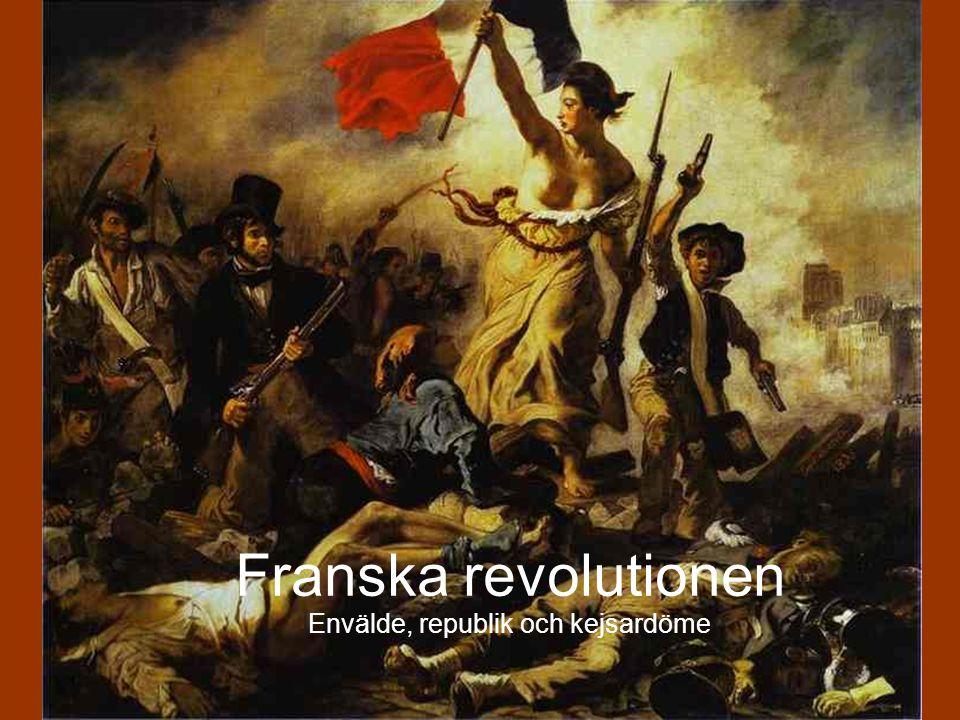 Robespierre slog ner allt uppror.