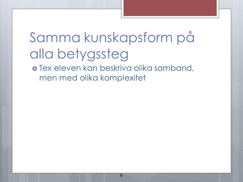 Sammanställning av Lgr 11 http://www.pedagogstockholm.se/Reformer/Lgr11/Lgr11/Lgr11 -Samlade-kursplaner-pdf/