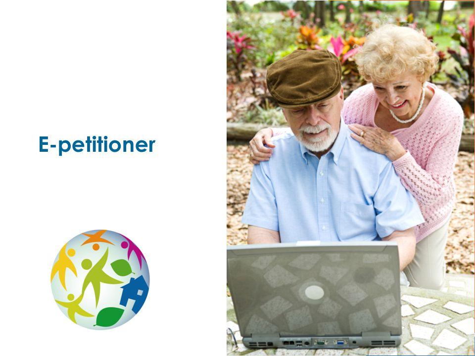 1 E-petitioner