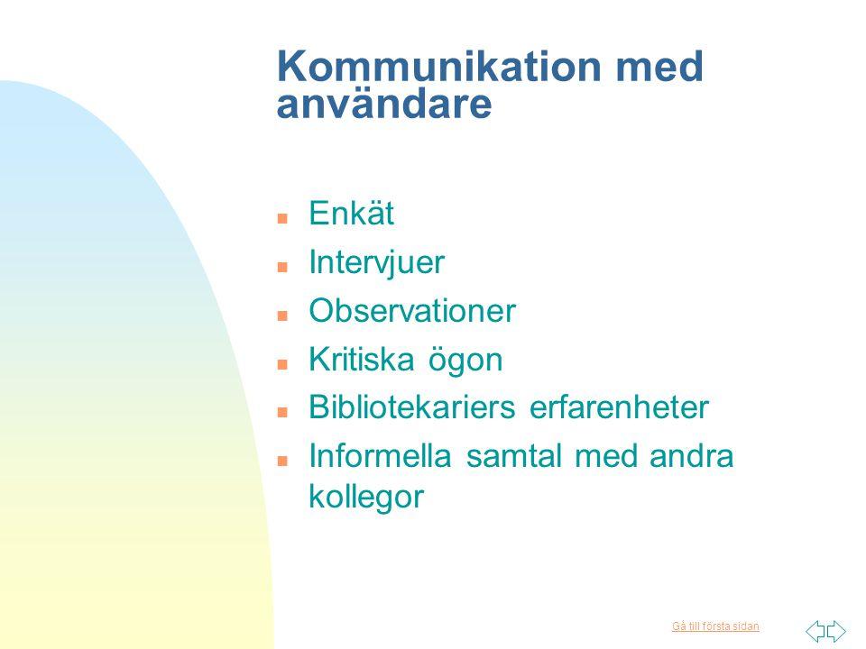 Gå till första sidan Tack för uppmärksamheten! eva.norling@bth.se anne-marie.pettersson@bth.se